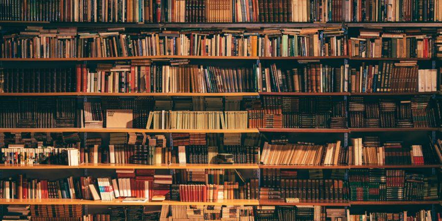 Biblioteka pełna książek jak biblioteka w informatyce